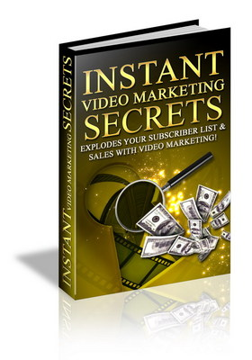 Product picture InstantVideoMarketingSecrets makemoremoneyfromyourwebsite