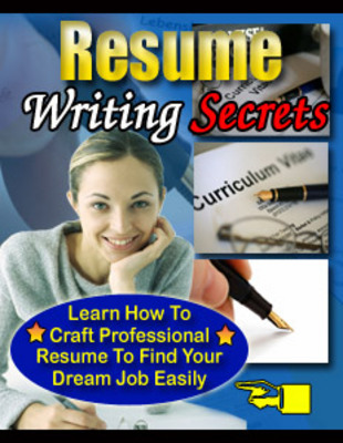 Product picture ResumeWritingSecretsPLR - make more money from your website