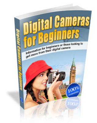 Product picture DigitalCamerasForBeginners - make more money from website