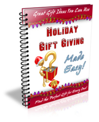 Product picture HolidayGiftGivingMadeEasy - make more money from yourwebsite